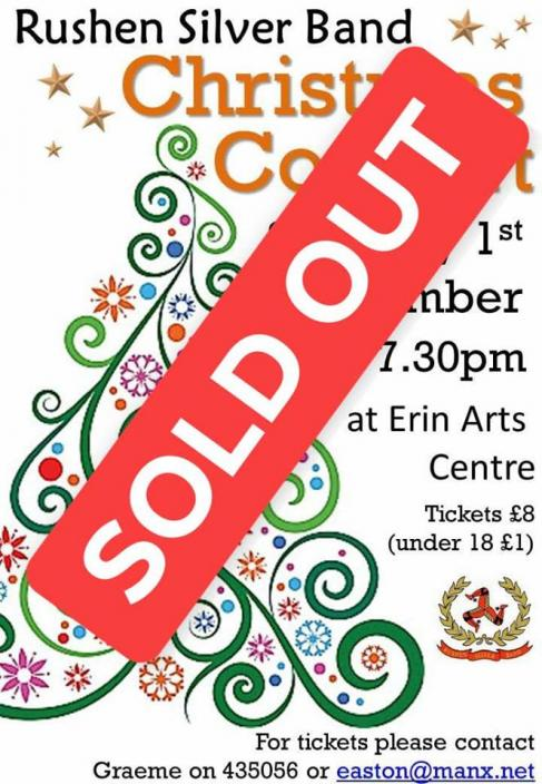 Christmas Concert sold out